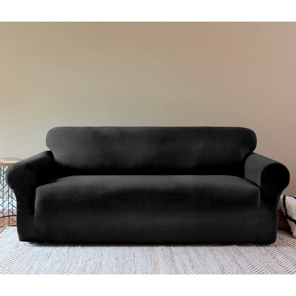 Sydney One Piece Stretch Sofa Slipcover 17474687