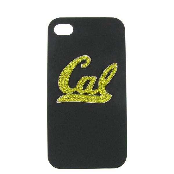 NCAA UC Berkeley Crystal Cal black iPhone 4/ 4S Case
