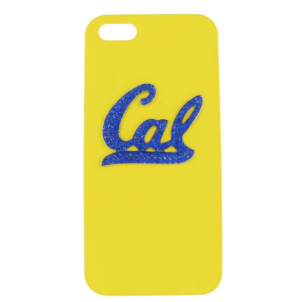 NCAA UC Berkeley Crystal Cal yellow iPhone 5/ 5S Case