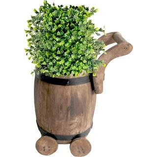 Small Barrel Planter Cart