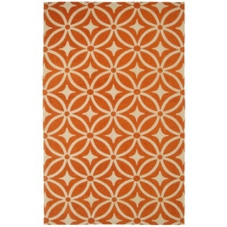 Juniper Diamonds Mandarin Area Rug (3' x 5')