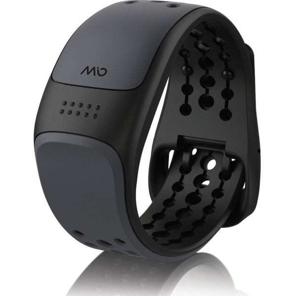 MIO LINK (Grey) Heart Rate Wristband- Large