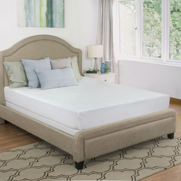 Maxrest Eco Friendly 8-inch California King-size Gel Memory Foam Mattress