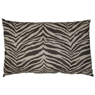 "Zebra Decprative Throw Pillow 18x26"""