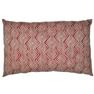 "Geo Decorative Throw Pillow 18x26"""