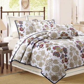 Moraga Cotton 3-piece Quilt Set