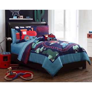 Sebastian Train 4-piece Comforter Set