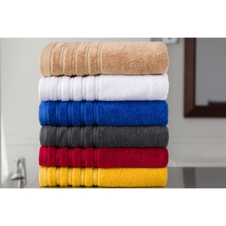 Indulgence 100-percent Cotton 6-piece Towel Set