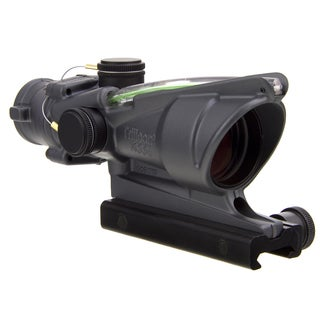 Trijicon ACOG 4x32 Dual Illuminated Green Crosshair with Flattop Mount Cerakote Sniper Gray