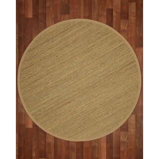 Pinamar Round Seagrass Sage/ Khaki Rug (7'x7')