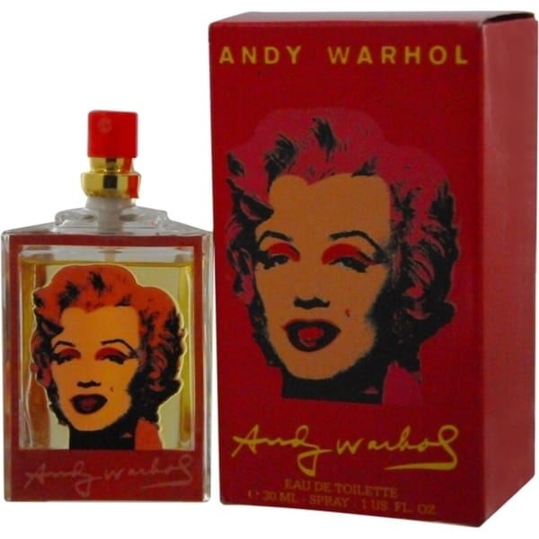 Andy Warhol Marilyn Red Women's 1-ounce Eau de Toilette Spray