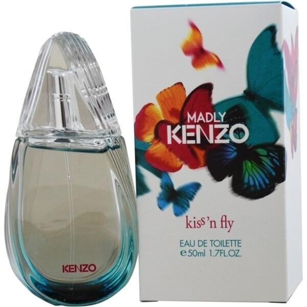 Kenzo Madly Kenzo Kiss N Fly Women's 1.7-ounce Eau de Toilette Spray