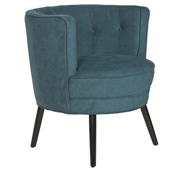 angelo:HOME Lily Parisian Teal Blue Barrel Chair