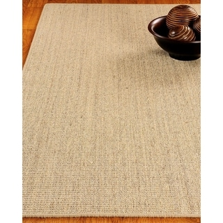 Hand-crafted Eclipse Sisal Beige Rug (8'x10')