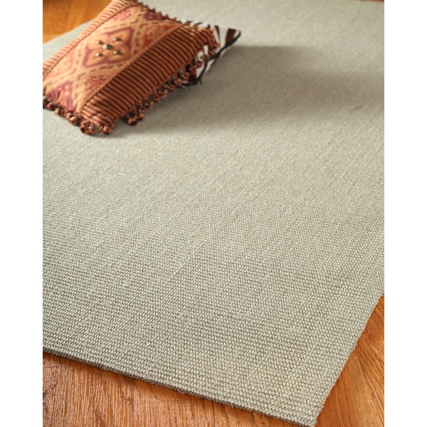 Hand-crafted Empire Sisal Grey Rug (4'x6')