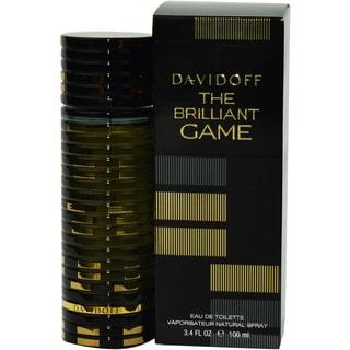Davidoff The Brilliant Game Men's 3.4-ounce Eau de Toilette Spray