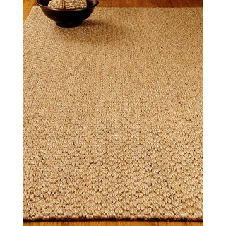 Hand-crafted Stateroom Sisal Beige Rug (6'x9')