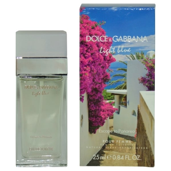 Dolce & Gabbana Light Blue Escape To Panarea Women's .85-ounce Eau de Toilette Spray (Limited Edition)