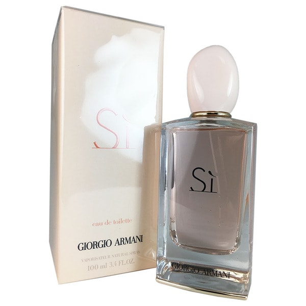 Giorgio Armani Si Women's 3.4-ounce Eau de Toilette Spray