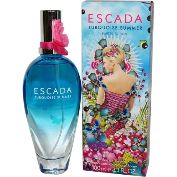 Escada Turquoise Summer Women's 3.4-ounce Eau de Toilette Spray (Limited Edition)