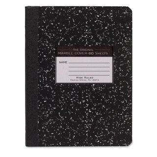 Roaring Spring Wide Rule 60 Sheet Composition Book
