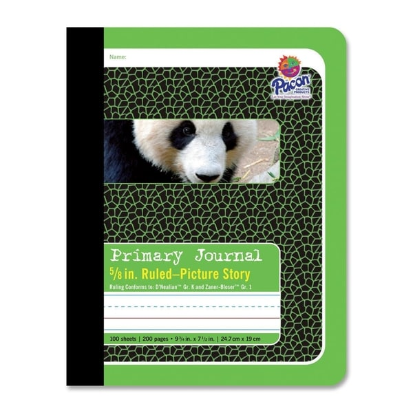 Pacon Panda Composition Book
