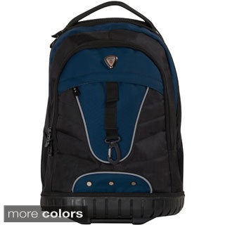CalPak 'Night Vision' 18-inch Rubber Bottom Laptop Rolling Backpack
