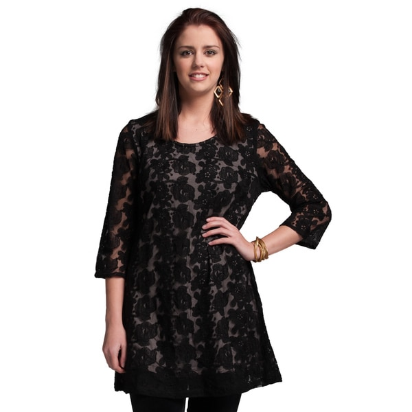 PaperLace 3/4 Sleeve - Lace tunic