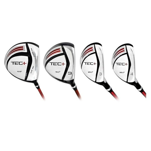 Intech Tec + Driver 3 Fairway Wood 3 Hybrid 4 Hybrid (Men's Regular Flex)