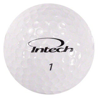 Intech Men's Beta Ti AccuDistance Golf Balls Bright White (Pack of 48)