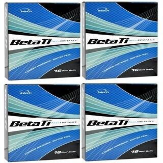 Intech Men's Beta Ti AccuDistance Golf Balls (Pack of 64)