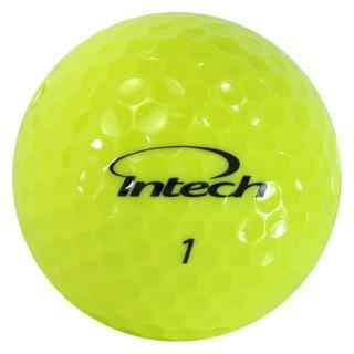 Intech Men's Beta Ti AccuDistance Golf Balls Hi-Visibility Yellow (Pack of 64)