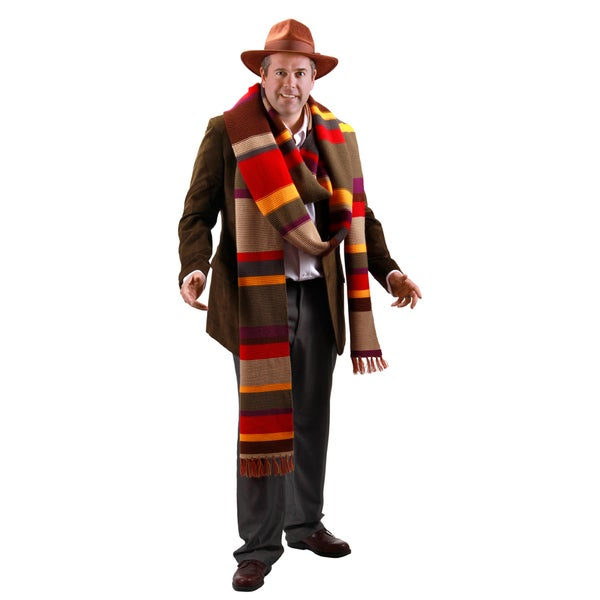 The 4th Doctor Who 17-foot Scarf