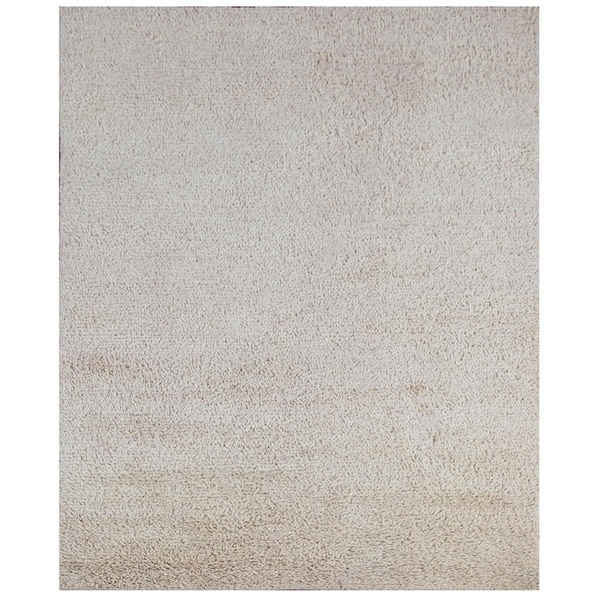 Hand-Woven Formal Dune/Dune Wool (5X8) Area Rug