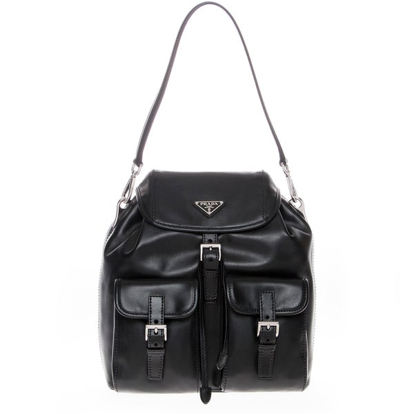 Prada Soft Calfskin Shoulder Bag