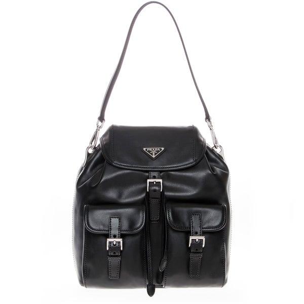 Prada Soft Calfskin Shoulder Bag