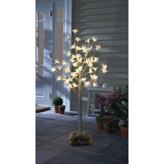 Order Home Collection 4ft Magnolia Blossom LED Tree