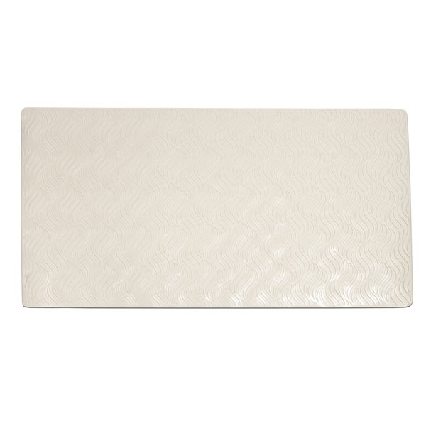 All Natural Rubber Non-slip Suction Wave Design Tub Mat 15863936