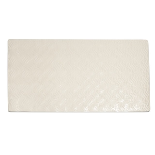 All Natural Rubber Non-slip Suction Wave Design Tub Mat