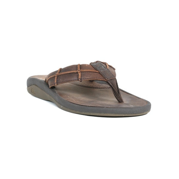 Quicksilver Men's Brown and Gum Bondi Sandal