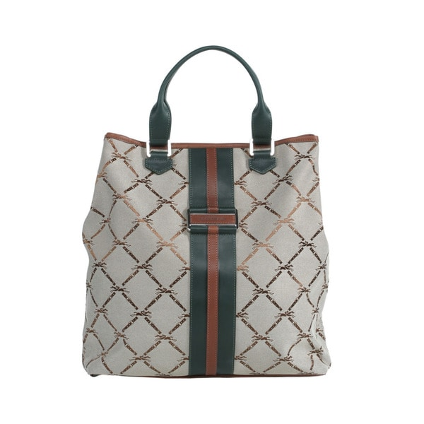 Longchamp Fir LM Jacquard NS Shoulder Tote