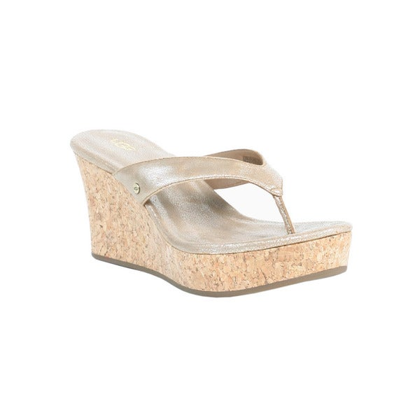 Ugg Gold Wash Women's Natassia Wedges