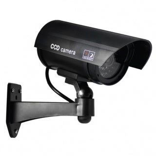 5-inch Black IR Dummy Security Camera