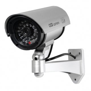 5-inch Silver IR Dummy Security Camera