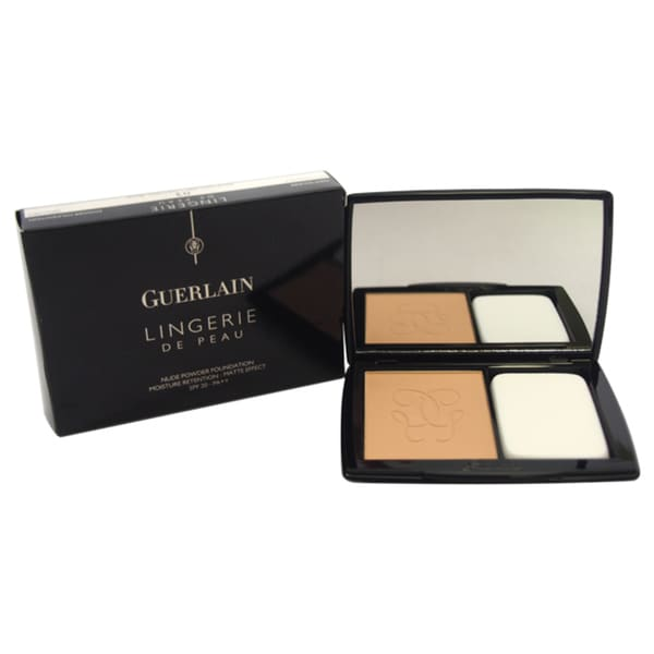 Guerlain Lingerie De Peau Nude Powder Foundation SPF 20 # 03 Natural Beige