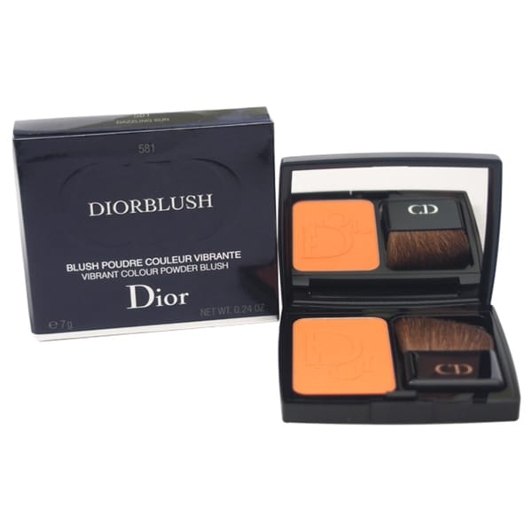 Diorblush Vibrant Colour Powder Blush # 581 Dazzling Sun