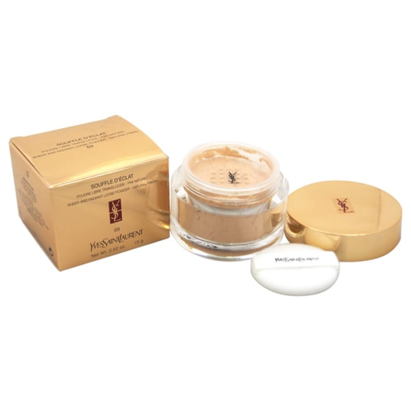 Yves Saint Laurent Souffle D'Eclat Sheer and Radiant Loose Powder Natural Finish # 3