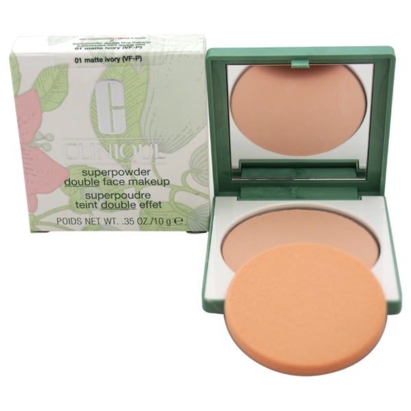 Clinique Superpowder Double Face Makeup # 01 Matte Ivory