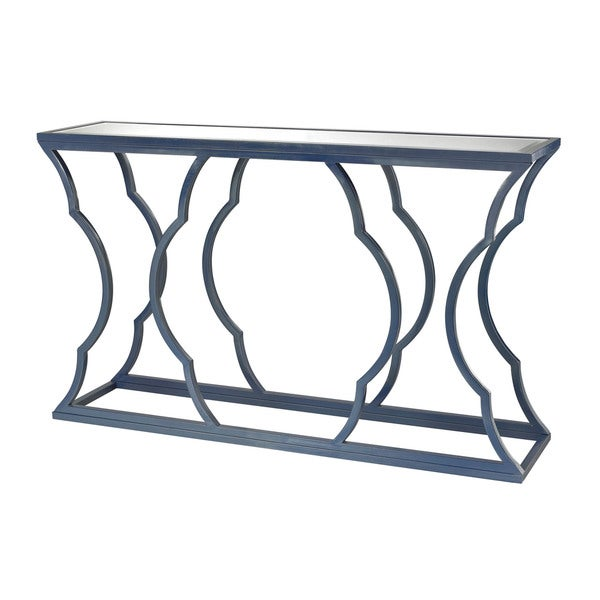 LS Dimond Home Blue Metal Cloud Console