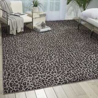 Nourison Studio Charcoal Rug (5'3 x 7'3)
